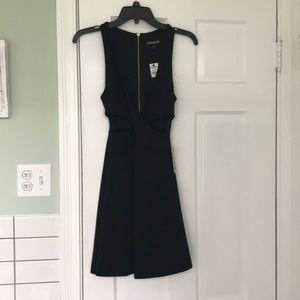 Black cutout dress 💠